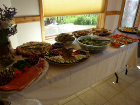 Catered wedding